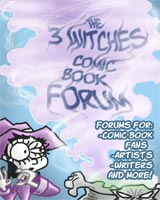 online comics, webcomics, 3 Witches, Cartoon Witches
